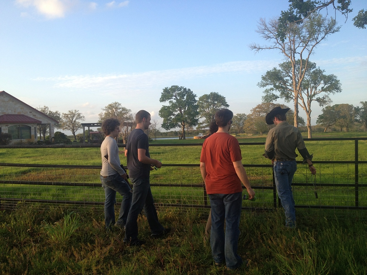 Touring the Property